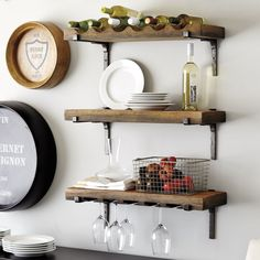 Vigneto Shelf-for above buffet or coffee cart