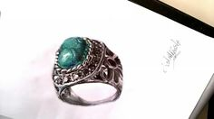 #jewels #ring #turquoise #tbt #iphoneonly #photooftheday #instaday #instasketch #antonellaniettaillustrations #italia #labellaitalia #moda