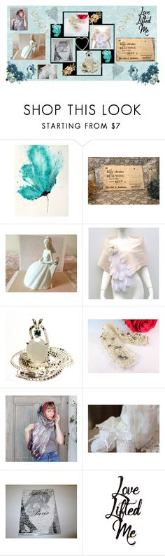 """""""Love Lifted Me"""" by elsiescreativedesign ❤ liked on Polyvore featuring giftsforwomen, epiconetsy, CTEtsy, etsychaching and WeddingGiftIdeas"""