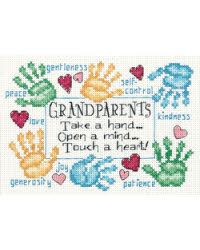 A counted cross stitch kit.