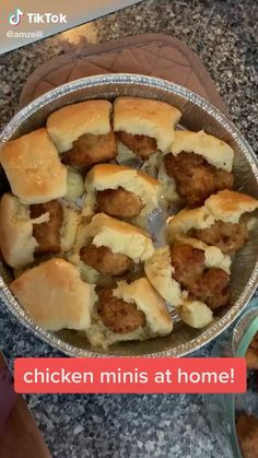 Brunch Recipes, Appetizer Recipes, Breakfast Recipes, Appetizers, Chicken Minis, Good Food, Yummy Food, Diy Food, Food Ideas