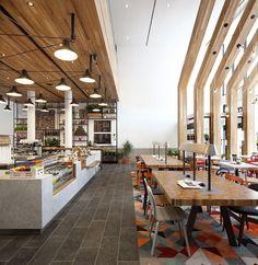 Le café se transforme en restaurant à tout moment de la journée pour combler les petits creux