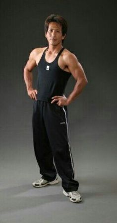 "Makoto Nagano - the ultimate All Star from the tv show ""Sasuke"" (Ninja Warrior)."