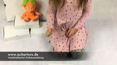Eine Aufbauanleitung erklärt dir, wie der as-kartons - Maxibriefkarton richtig und schnell aufgebaut wird. www.as-kartons.de #Klebebänder, #Bücherkartons, #Umzugskartons, #Maxibriefkartons, #Luftpolstertaschen,