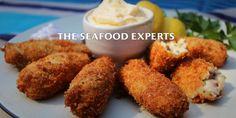 salmon and chorizo croquettes