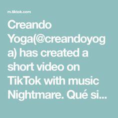 Creando Yoga(@creandoyoga) has created a short video on TikTok with music Nightmare. Qué significa yoga #yogaenespañol #cursodeyoga #yogaonline #sanscrito #aprendeyoga #yogaparatodos #aprendeyogaentiktok