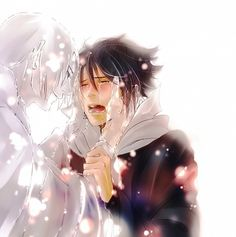 """Itachi and sasuke TT^TT """"we'll have practice next time sauske.. i have to go"""""""