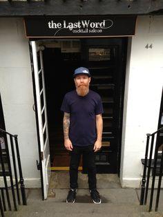 Jason Scott Owner of Bramble, The Last Word and Liquor Edinburgh