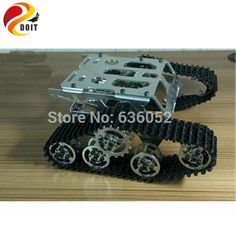 d0a4c6aa533 ... Tractor Crawler Metal Wheel Robot Wall e Car Obstacle Avoidance DIY RC  Toy-in Parts   Accessories from Toys   Hobbies on Aliexpress.com