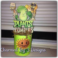 Image result for centros de mesa de plants vs zombies