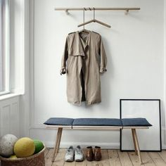 Danish design company with roots deeply grounded in Scandinavian design and tradition for good craftsmanship. Decoration Hall, Design Bestseller, My New Room, Furniture Collection, Scandinavian Design, Home And Living, Simple Living, Wardrobe Rack, Interior Inspiration