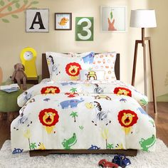 Unique Twin Monkey Sheets