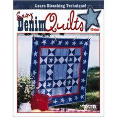 Leisure Arts - Easy Denim Quilts, $4.48 (http://www.leisurearts.com/products/easy-denim-quilts.html)