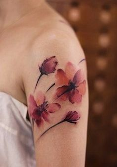 coolTop Watercolor tattoo - chinese ink painting in Diy Tattoo, Tattoo Fonts, Tattoo Ideas, Tattoo Quotes, Neue Tattoos, Body Art Tattoos, Sleeve Tattoos, Water Color Tattoos, Thigh Tattoos