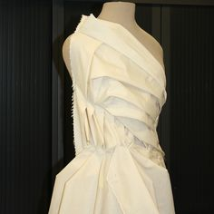 AOF MasterClass 4-week 2013 - Draping research with  Patricia Fumo from Venezuela