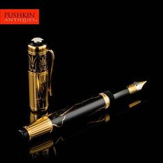 MONTBLANC LIMITED EDITION ALEXANDER THE GREAT PATRON OF ART FOUNTAIN PEN 1998
