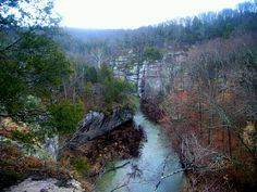 Indian Kitchen in Lusk Creek Canyon, Shawnee National Forest, Southern Illinois