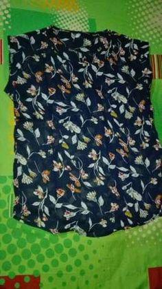 Camisa irregular con estampado floral | SHEIN USA Patterned Shorts, High Low, Floral Prints, Crop Tops, Fashion, Shirts, Blouses, Women, Moda