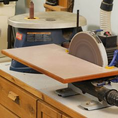 How to Make a Disk Sander Extension Table