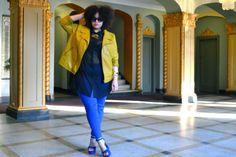 Big girl attitude ~ fabulous!    Gabi Gregg is a full time fashion consultant and personal style blogger at gabifresh.com