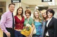 Dirty Teacher cast: Marc Raducci, Josie Davis, Rene Ashton, Kelcie Stranahan, Darlene Vogel and Lesli Kay. Photo by Charles Christopher.