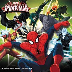 Ultimate Spider-Man Wall Calendar | $14.99 | Ultimate Spider-Man Wall Calendar features your favorite heroes and villains! Celebrate the new year with Marvel's Ultimate Spider-Man that is packed with many of Spidey's most notable enemies. The calendar is perfect for Spider-Man fans.