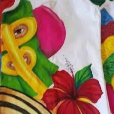 Imagen relacionada Seersucker, Toddler Girls, T Shirt Painting, Tropical Flowers, Creative Senior Pictures