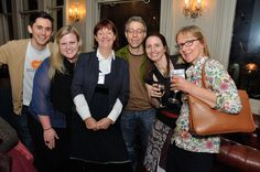 Orna Ross, Amazon's Thom Kephart and Amanda Wilson, Brian Felsen and Karen Inglis - and me!