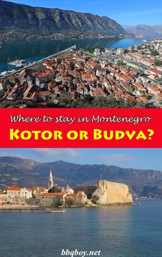 Kotor or Budva? We spent 5 days in each but the answer was obvious. #Kotor #Budva #Montenegro #travel #guide