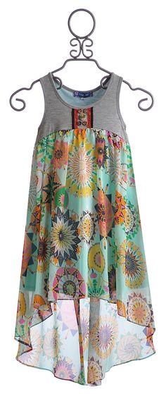 Truly Me Tween High Low Dress Maxi $68.00