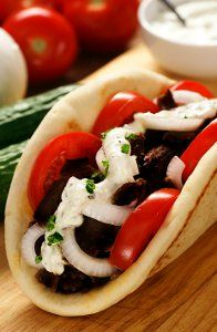 Sick of serving the same, flavorless dishes for dinner each week? Well try spicing up your routine with this recipe for Lamb Greek Gyros. Greek gyros recipes like this one are super easy to make, and so delicious to eat.