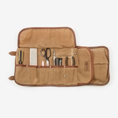 Waxed Canvas Tool Roll - Victor Axe + Tool  -  - Goods - 3