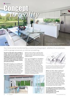 Concept to reality ~ How to turn your home project from an idea to reality with the most effective approach to the task. Farnham Surrey, Interior Concept, Home Projects, Home And Garden, Loft, Gardens, Homes, Interiors, How To Plan