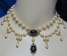 1463 SCA Necklace Gemtone Colors Available