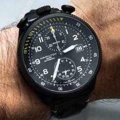 Hamilton Khaki Takeoff Limited Edition Watch. ablogtowatch's photo on Instagram