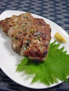 豚ひき肉のつくね風。 by ラビー [クックパッド] 簡単おいしいみんなのレシピが223万品
