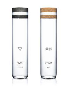 PURO Premium Water on Behance