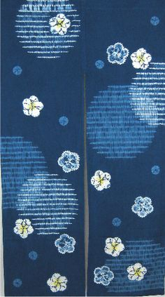 Japanese noren are shown in this page for sale. Shibori, Japanese Textiles, Japanese Fabric, Japanese Wrapping, Textile Dyeing, Noren Curtains, Pattern Design, Motif Design, Japanese Design