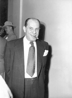 Gus Greenbaum, president of the Riviera Hotel and Casino, and his wife were found in their Phoenix home with their throats cut on Dec. 3, 1958. Gus 1940 census http://www.archives.com/1940-census/gus-greenbaum-az-10414880