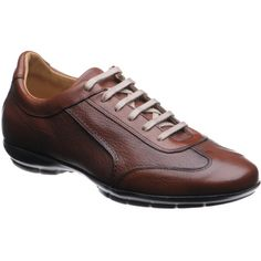Herring Le Mans in brown from Herring Shoes Shoes Men, Men's Shoes, Dress Shoes, Smart Casual Wear, Men Casual, Brown Trainers, Gentleman Shoes, Mens Boots Fashion, Le Mans