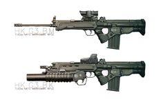 ArtStation - Concept Rifle Hk G3 BK, Shun Kim