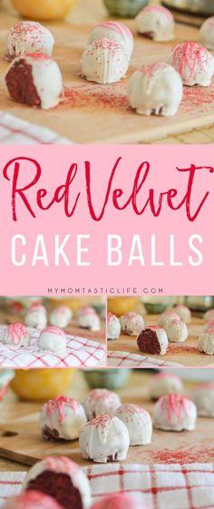 Red Velvet Cake Balls = My Momtastic Life