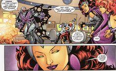 Comics cont. Nightwing And Starfire, Teen Titans, Comic Books, Comics, Cover, Art, Art Background, Kunst, Cartoons