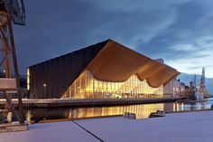 Kilden Performing Arts Centre, a theatre and concert hall in Kristiansand, Norway, by Ala Architects