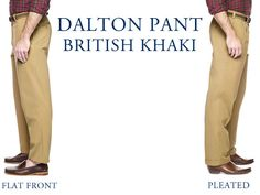 Introducing the newest addition to the Dalton Pant line from Jack Donnelly; British Khaki!