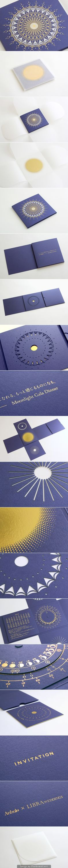Anhelo × LIBRA WEDDINGS the most gorgeous wedding invitation packaging curated by Packaging Diva PD Wedding Invitation Packages, Gala Invitation, Brand Packaging, Packaging Design, Stationary Branding, Stationery, Furniture Brochure, Album Cover Design, Japanese Graphic Design
