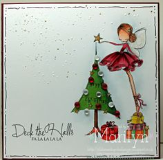 One Stamping Fool: All Dressed Up for Christmas! All Dressed Up digi stamps