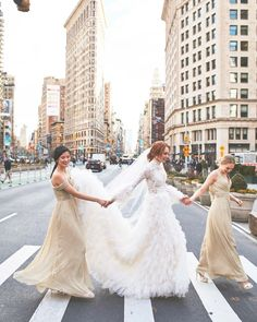 Wedding Inspo For Luxe Brides ( Beautiful Wedding Gowns, Perfect Wedding Dress, Best Wedding Dresses, One Shoulder Wedding Dress, Bridesmaid Poses, Bridesmaid Dress Colors, Brides And Bridesmaids, Bridesmaid Inspiration, Try On