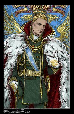 Nikolai Lantsov - Grisha Trilogy Art by Phantom Rin Character Inspiration, Character Art, Character Design, Book Characters, Fantasy Characters, Fanart, Saga, Red Rising, The Darkling