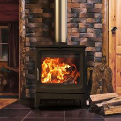 Saltfire Bignut 5 Eco Design Ready Wood Burning Stove - Stoves Are Us Electric Fires, Electric Stove, Inset Stoves, Wood Stoves, Boiler Stoves, Stoves Cookers, Multi Fuel Stove, Range Cooker, Log Burner